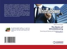 Bookcover of The Basics of Whistleblowing