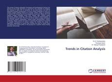 Trends in Citation Analysis的封面
