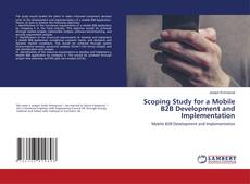 Couverture de Scoping Study for a Mobile B2B Development and Implementation