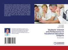 Couverture de Students' Interest and Performance in Vocational Education Subjects