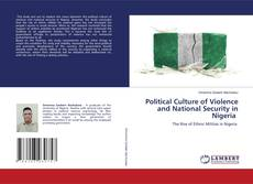 Couverture de Political Culture of Violence and National Security in Nigeria