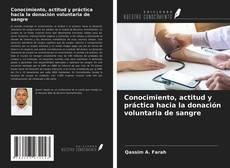 Capa do livro de Conocimiento, actitud y práctica hacia la donación voluntaria de sangre
