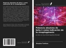 Portada del libro de Potencia absoluta de beta-1 como indicación de la sinaptogénesis