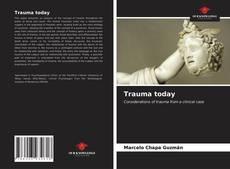 Обложка Trauma today