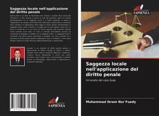 Bookcover of Saggezza locale nell'applicazione del diritto penale