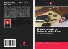 Обложка Sabedoria Local na Aplicação da Lei Penal