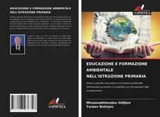Bookcover of EDUCAZIONE E FORMAZIONE AMBIENTALE NELL'ISTRUZIONE PRIMARIA