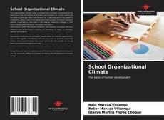 Buchcover von School Organizational Climate