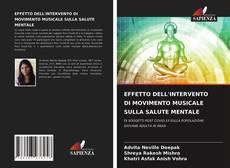 Обложка EFFETTO DELL'INTERVENTO DI MOVIMENTO MUSICALE SULLA SALUTE MENTALE