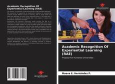 Buchcover von Academic Recognition Of Experiential Learning (RAE)