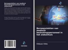Portada del libro de Beroepsziekten van medisch bestralingspersoneel in het ziekenhuis