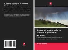 Обложка O papel da precipitação na remoção e geração de aerossóis