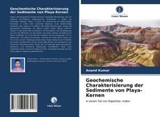 Bookcover of Geochemische Charakterisierung der Sedimente von Playa-Kernen