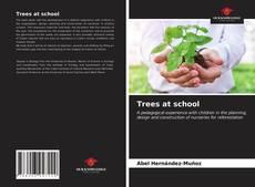 Couverture de Trees at school