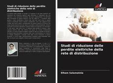 Copertina di Studi di riduzione delle perdite elettriche della rete di distribuzione