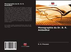 Capa do livro de Monographie du Dr. B. R. Ambedkar