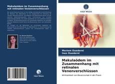 Buchcover von Makulaödem im Zusammenhang mit retinalen Venenverschlüssen