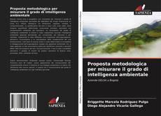 Buchcover von Proposta metodologica per misurare il grado di intelligenza ambientale