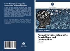 Format für psychologische Beurteilung und Intervention kitap kapağı