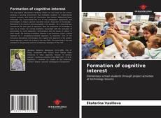 Buchcover von Formation of cognitive interest