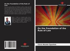 Buchcover von On the Foundation of the Rule of Law