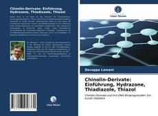 Bookcover of Chinolin-Derivate: Einführung, Hydrazone, Thiadiazole, Thiazol
