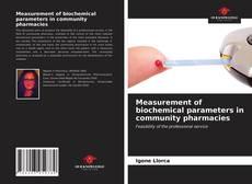 Buchcover von Measurement of biochemical parameters in community pharmacies
