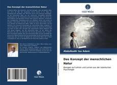 Bookcover of Das Konzept der menschlichen Natur