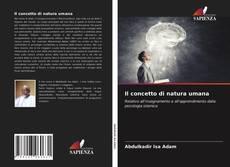 Bookcover of Il concetto di natura umana
