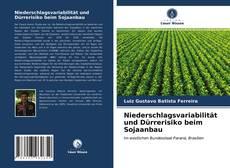 Bookcover of Niederschlagsvariabilität und Dürrerisiko beim Sojaanbau