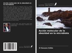 Bookcover of Acción molecular de la obesidad en la microbiota