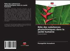 Bookcover of Rôle des substances phytochimiques dans la santé humaine