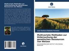 Capa do livro de Multivariate Methoden zur Untersuchung der genetischen Ressourcen von Weizen
