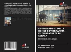 EMPOWERMENT DELLE DONNE E PROGRAMMA KUDUMBASHREE IN KERALA的封面