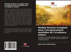 Buchcover von Modèle Bristow-Campbell dans l'enregistrement quotidien de l'irradiance solaire