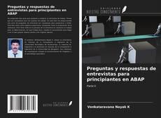 Couverture de Preguntas y respuestas de entrevistas para principiantes en ABAP