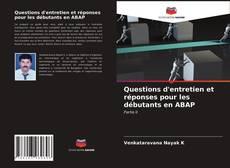 Buchcover von Questions d'entretien et réponses pour les débutants en ABAP