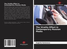 Portada del libro de The Virality Effect in Contemporary Russian Media
