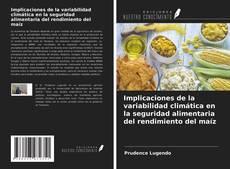 Bookcover of Implicaciones de la variabilidad climática en la seguridad alimentaria del rendimiento del maíz