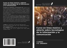 Portada del libro de Curso en línea masivo y abierto sobre tecnologías de la información y la comunicación