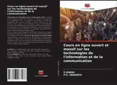 Portada del libro de Cours en ligne ouvert et massif sur les technologies de l'information et de la communication