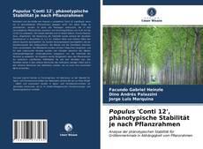 Bookcover of Populus 'Conti 12', phänotypische Stabilität je nach Pflanzrahmen