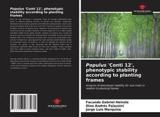 Обложка Populus 'Conti 12', phenotypic stability according to planting frames