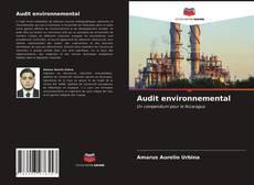 Portada del libro de Audit environnemental