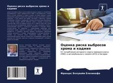 Bookcover of Оценка риска выбросов хрома и кадмия