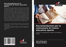Bookcover of Raccomandazioni per la costruzione di risorse educative aperte