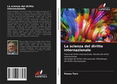 Portada del libro de La scienza del diritto internazionale