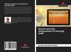 Bookcover of Social security assessment of nursing staff