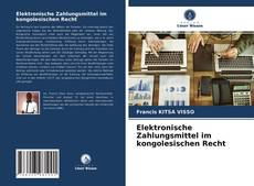 Bookcover of Elektronische Zahlungsmittel im kongolesischen Recht