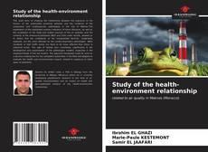 Borítókép a  Study of the health-environment relationship - hoz